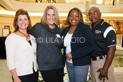Cheryl Overley Klubak, Megan LaVogue, Tanya & Lawrence Patterson