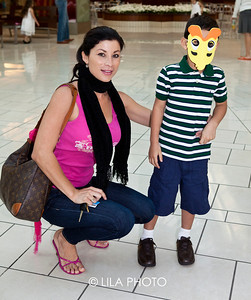 Ingrid Molina with Kai.