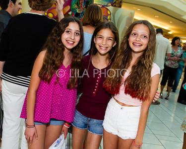 Ava Scuderi, Natalia Niner, Becky Hampton