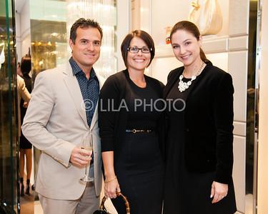 Javier Arcila, Jenna Sokolovsky, Dana Romanelli
