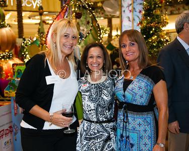 Pamela Tombari, Donna Goldfarb, Chrissy Palermo