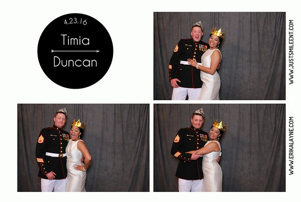 Tamia and Duncan wedding