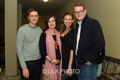 Stephan & Jennifer McQuown, Sarah Gates, Alexander Ives