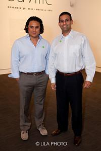 Samir Qureshi (on right)