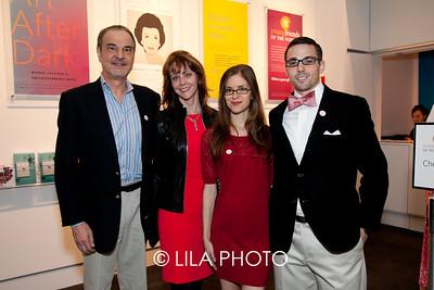 Dr. Wayne Hunthausen, Jan Kyle, Shanna & Daniel Kahan