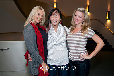 Lisa Saunders, Song Han, Eve Bucwinski