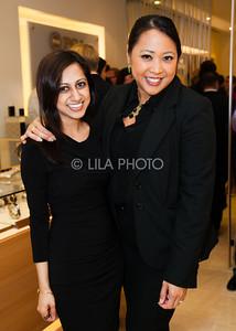 Shina Patel, Theresa Tecson