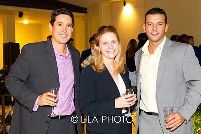 Michael Martirena, Abigail Jorandby, and Andres Correa