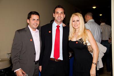 Zach Lansatt, Brian Goldberg, Anne Marie Lawrence