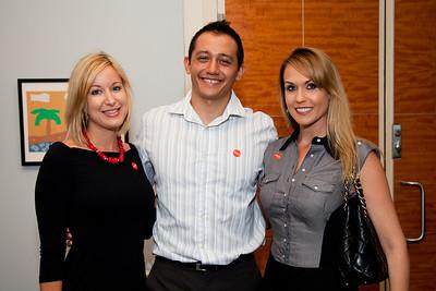 Rachel Glasser, Brian Hashiguchi, Tracy Whalen