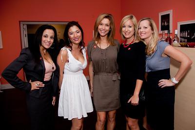 Stacy Ortiz, Tanya Schwartz, Amy McGill, Rachel Glasser, Christine Legris