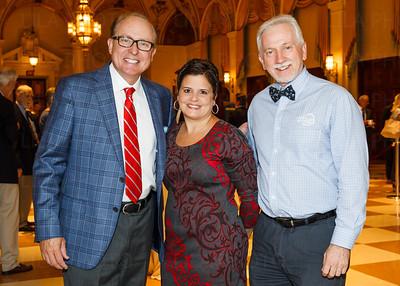 Dr. James Davis, Jennfer Santiago, Carl Foster