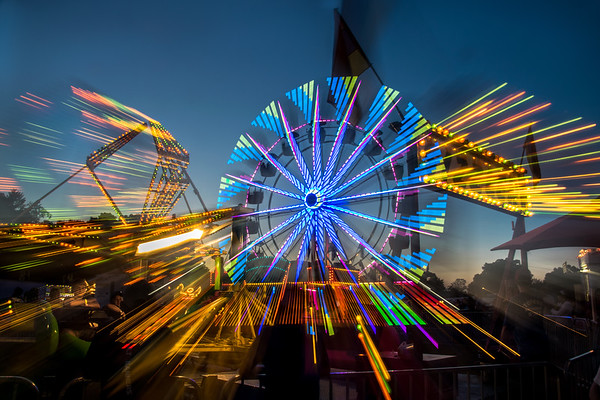 C Peter Chow - Clinton_Ferris Wheel_$250_18x24