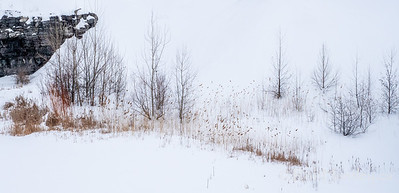 Winter at the quarry.