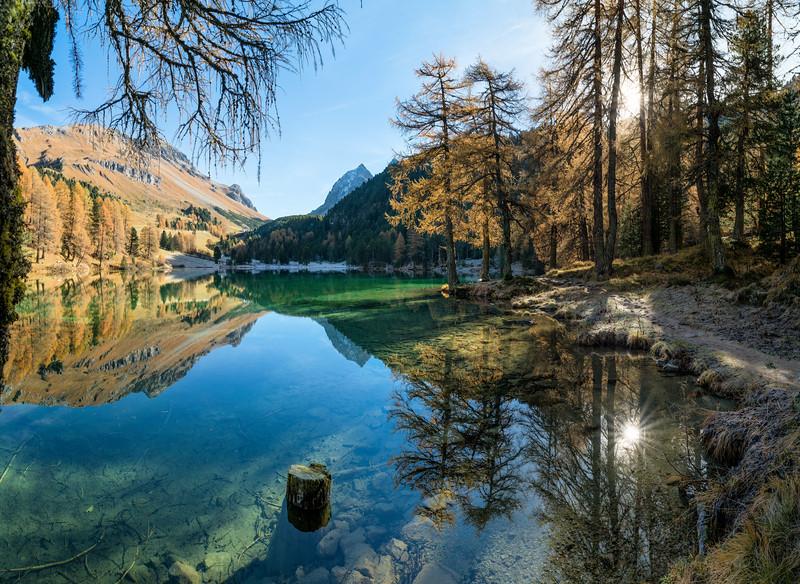 Schweiz Palpuognasee