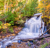 Wagner Falls in Fall