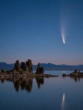 Comet NEOWISE at Mono Lake
