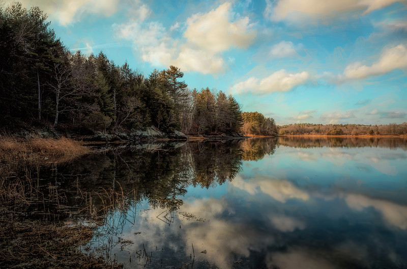 Calm on Great Bay, Adams Point, Durham