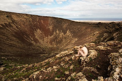 Nude on a Volcano