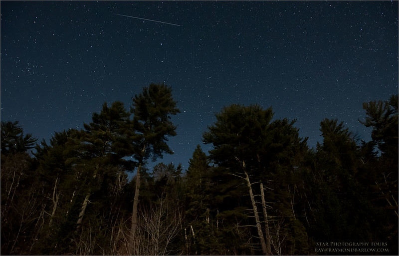 Algonquin Stars<br /> Raymond's Ontario Nature Photography Tours<br /> <br /> ray@raymondbarlow.com<br /> Nikon D810 ,Nikkor 17-35mm f/2.8D ED-IF AF-S<br /> 30s f/5.0 at 17.0mm iso4000