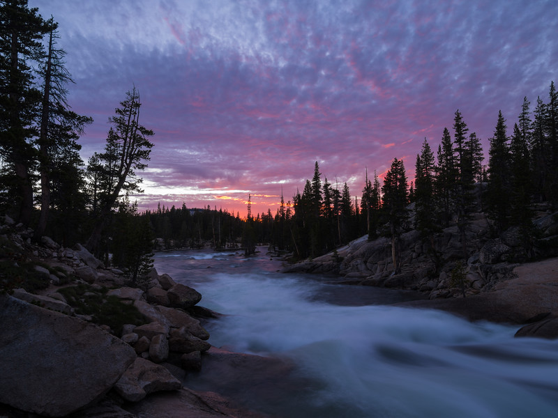 Evening on the Tuolumne River