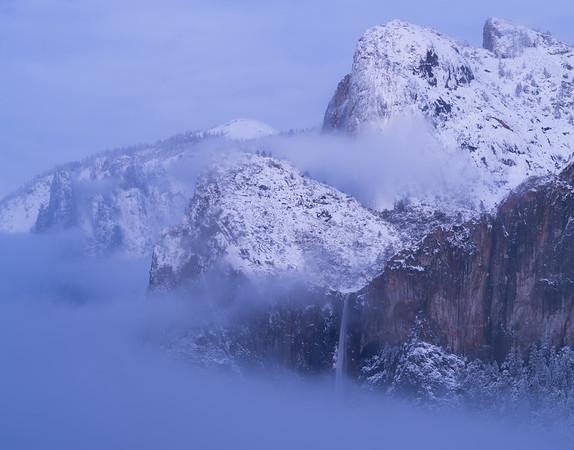 Bridalveil Fall with Mist
