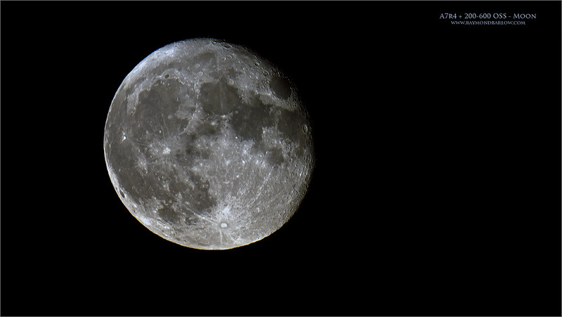 Thanks to Timothy Story for the help with last nights shoot., I was happy with the a7r4's performance with the moon.  200-600 OSS lens + the 1.4 tel-converter, so 840 mm in 35mm equivalent. <br /> <br /> Again, I am very happy with Sony, and Patrick Ng with Downtown Camera.