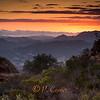 Santa Monica Mountains Sunset