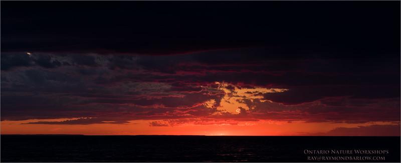 Dalhousie Sunset June 1st 2017<br /> Raymond's Ontario Nature Photography Tours<br /> <br /> ray@raymondbarlow.com<br /> Nikon D810 ,Nikkor 80-200mm f/2.8D ED AF<br /> 1/15s f/6.3 at 100.0mm iso64