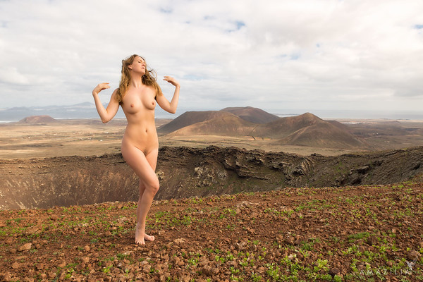 Nude on a Volcano 2