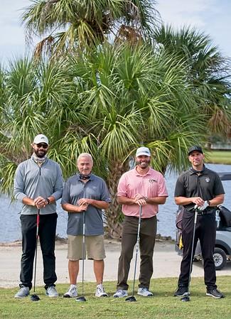 2020 Manatee Chamber Golf outting - team 12B