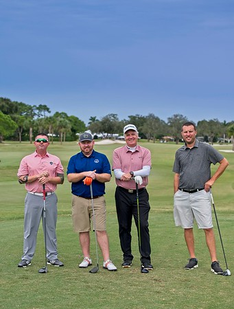 2020 Manatee Chamber Golf outting - team 8A