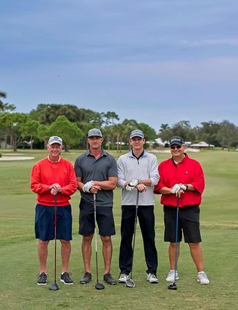 2020 Manatee Chamber Golf outting - team 10B