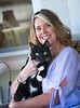Hometown News - Paw Walkers - Ann Colonna with Gus