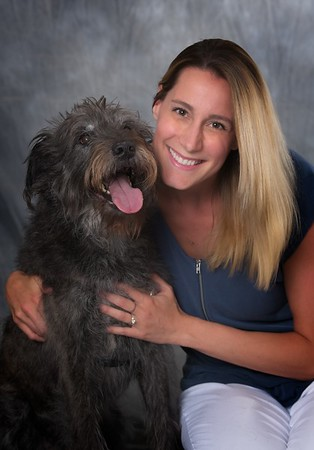 Amanda Parrish and her pooch Mutsy.