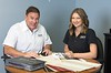 Hometown News - Sun Protection of Florida - Family business Owner Robert Falahee and daughter Ashlyn Falahee Sales Assoc