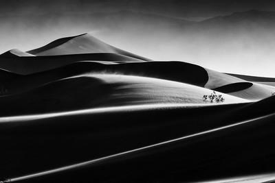 Death Valley Desert lines