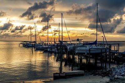 Sunset at Pensacola Bay