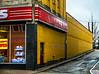 Moody Street Alley on a Rainy Afternoon, Waltham, MA 2015