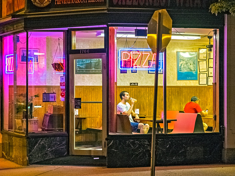 Late Night Neon, Cambridge, MA 2014