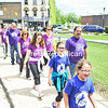 KAYLA BREEN/ STAFF PHOTO<br /> Participants in the recent Great Strides Walk in Plattsburgh are the latest in a long line of those helping to bring a cure for cystic fibrosis. The annual event, begun 23 years ago by Kathy Lawliss, who daughter lives with the disease, has raised thousands of dollars to contribute to the cause.