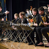 "GABE DICKENS/ P-R PHOTO<br /> Plattsburgh City School District Jazz Program Director Patrick Towey conducts the Plattsburgh High School Jazz Ensemble during the piece ""How High the Moon"" by Morgan Lewis during the Spring Jazz Concert in the Stafford Middle School Auditorium recently. The evening also featured performances by the Stafford Middle School Jazz Ensemble and the Middle School and High School Jazz Combo."
