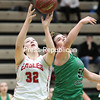 GABE DICKENS/ P-R PHOTO<br /> Beekmantown's Brooke Bjelko comes down with a rebound.