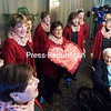 GABE DICKENS/ P-R PHOTO<br /> The Champlain Valley Sweet Adelines serenade Virginia Aley and other residents of Meadowbrook Healthcare Friday morning in Plattsburgh. The chorus has been entertaining sweethearts for 34 years throughout the North Country. Call 561-3715 to schedule a singing valentine for a loved one for Valentine's Day.