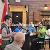 ALAN GOODMAN/ P-R PHOTOS<br /> Brian Byrne of Troop 8046 in Saranac Lake tells the crowd at the 34th-annual Friends of Scouting breakfast about how much he learned through being a Boy Scout. The event was held at the Butcher Block in Plattsburgh.