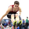 GABE DICKENS/ P-R PHOTOS<br /> Saranac's Eric Delutis took top honors in the long jump, along with placing first in the 300-meter dash.