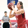 GABE DICKENS/P-R PHOTO 1-9-2017<br /> Plattsburgh State's Bella DePasquale pulls up for a 3-pointer during a SUNYAC women's basketball game Saturday at Memorial Hall.