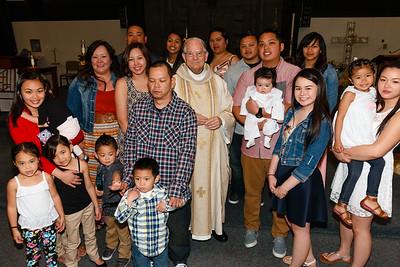 April 12, 2015 - Baptism