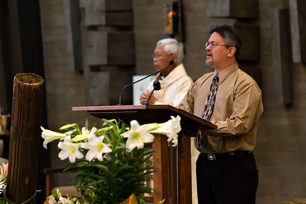 April 3, 2016 - 9:45 Mass by Fr. Dennis Sevilla