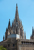 Cathedral Spire in Barcelona